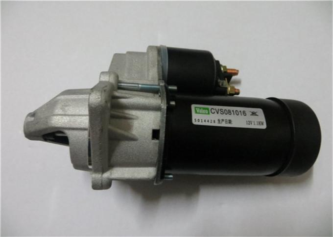 Black Silver 92089899 Vehicle Starter Motor For Chevrolet Aveo Opel Corsa